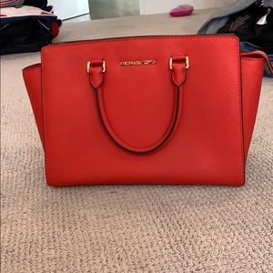 Orange Micheal Korea handbag